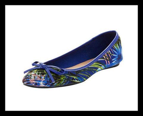 Ballet Shoes - Tropical