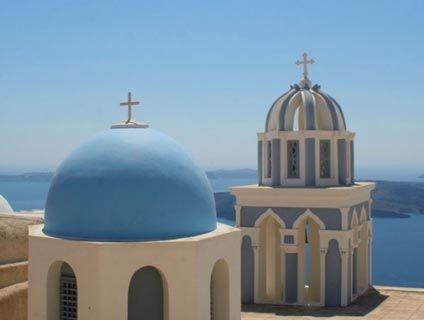 Ricordi di una estate a Santorini. Foto di posti unici. Mare, sole e azzurro ovunque. Vacanze in Grecia.