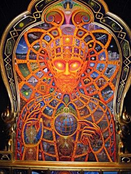 Cosmic Christ and the Art of Alex Grey