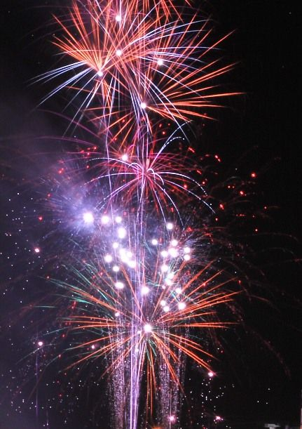 Fireworks on New Years Eve - Mauritius Style!