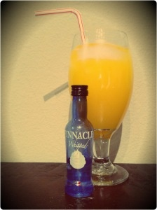 The Cosmonaut: Tang + Pinnacle Whipped Cream Vodka = Delicious!