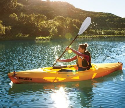 Kayak! Who said a workout has to be located in the gym!? Enjoy the outdoors! Kayaking is a great upper body and core exercise.