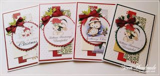 Christmas cards  http://sweetiehandmade.blogspot.ro