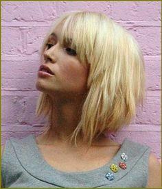 Blonde Bob Frisuren mit Pony - neue frisuren 2015