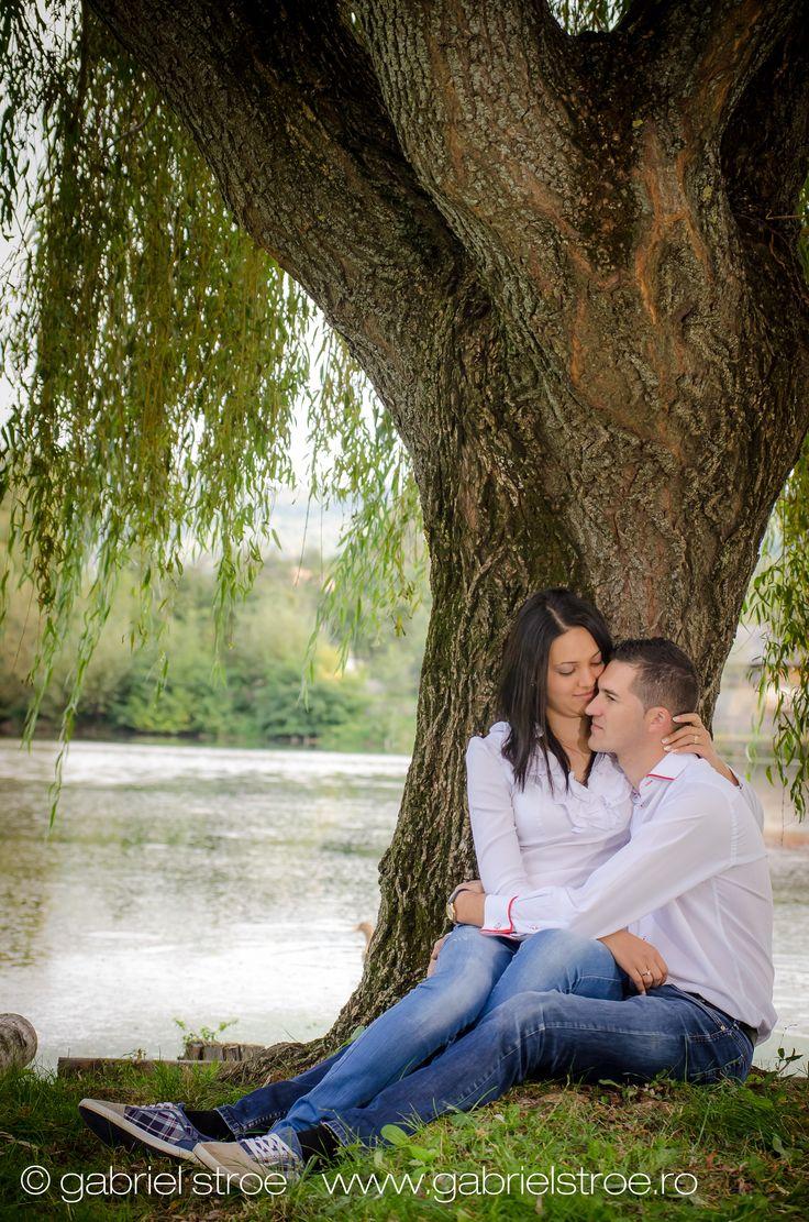 Fotografie de logodna in natura. George si Cristina, Engagement Session