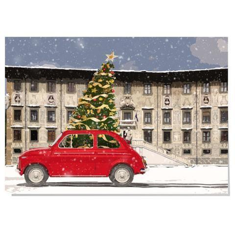 Fiat 500 Christmas card