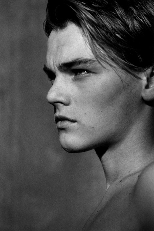 Leonardo Dicaprio. The one we all had a crush on in titanic