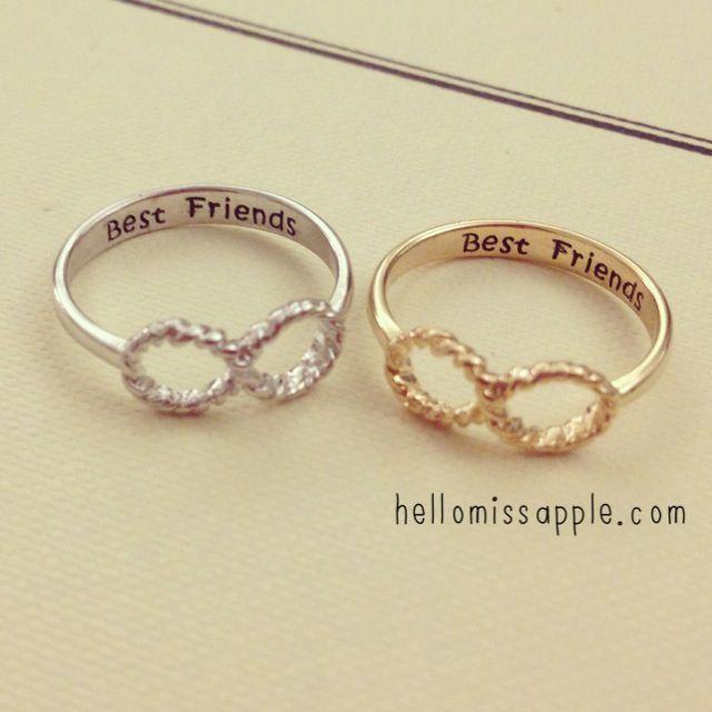 Freundschaftsringe best friends  20 besten Jewelery Bilder auf Pinterest | Halsketten, Schmuck und ...