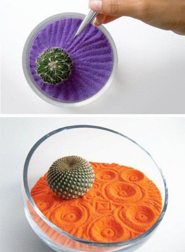 C mo hacer un jard n zen en miniatura bonsai and cacti - Ideas para hacer un jardin ...