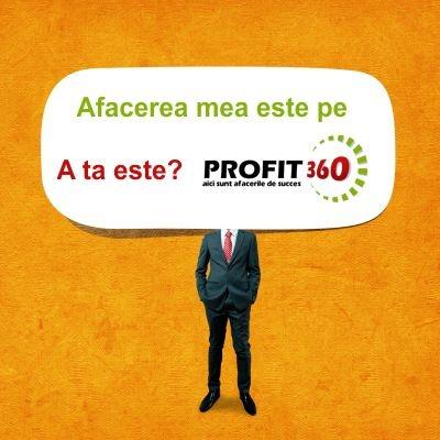 Daca vrei o idee de afacere profitabila sau ai deja un business pe care doresti sa il faci cunoscut, inscrie-te pe Profit360, cel mai complex portal de afaceri din Romania.