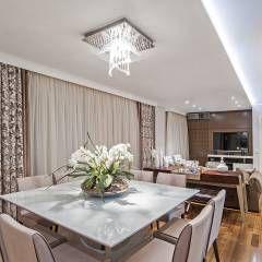 Jantar: Salas de jantar rústicas por Adriane Perotoni Arquitetura.Interiores