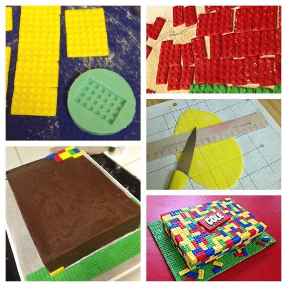 Moule Lego fondant pour gâteaux par CakeCoutureDesigner sur Etsy