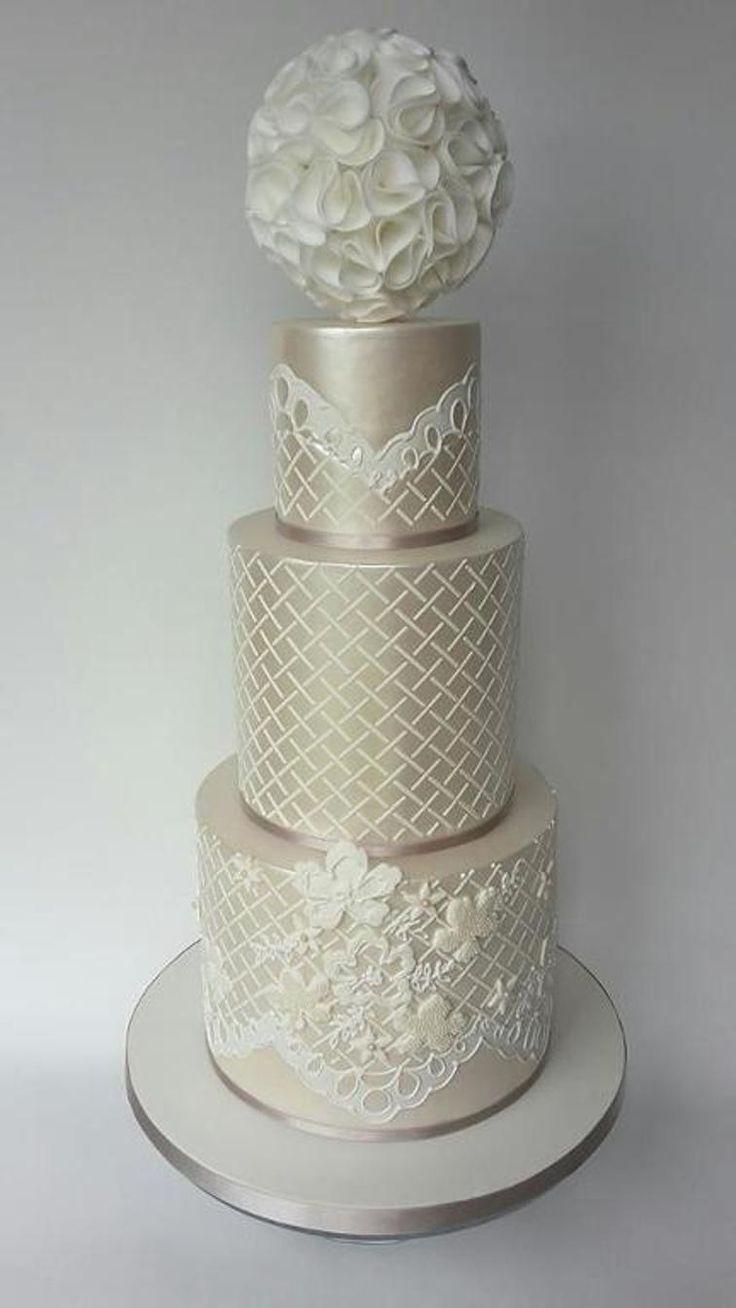 "Wedding cake ""Solene"" | Craftsy"