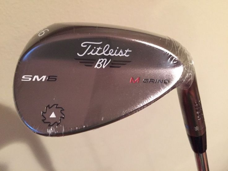 Titleist Vokey Design SM6 56.08 Sand Wedge M Grind Steel Gray Spin Milled - NEW
