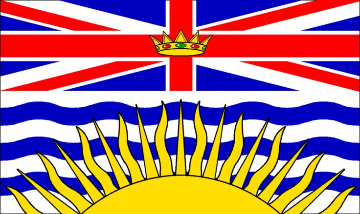 "British Columbia Flag 12"" x 18"" - British Columbia Flag 12"" x 18 ..."