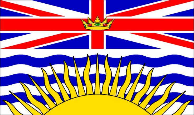 "British Columbia Flag 12"" x 18"" - British Columbia Flag 12"" x 18 ..."