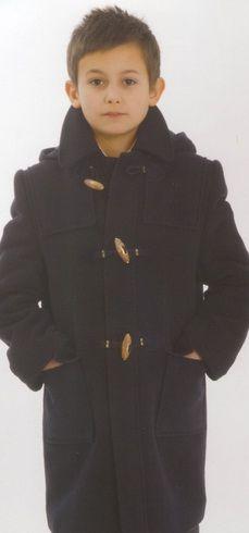 Пошив на заказ Модель: 2396И Пальто драповое для мальчика