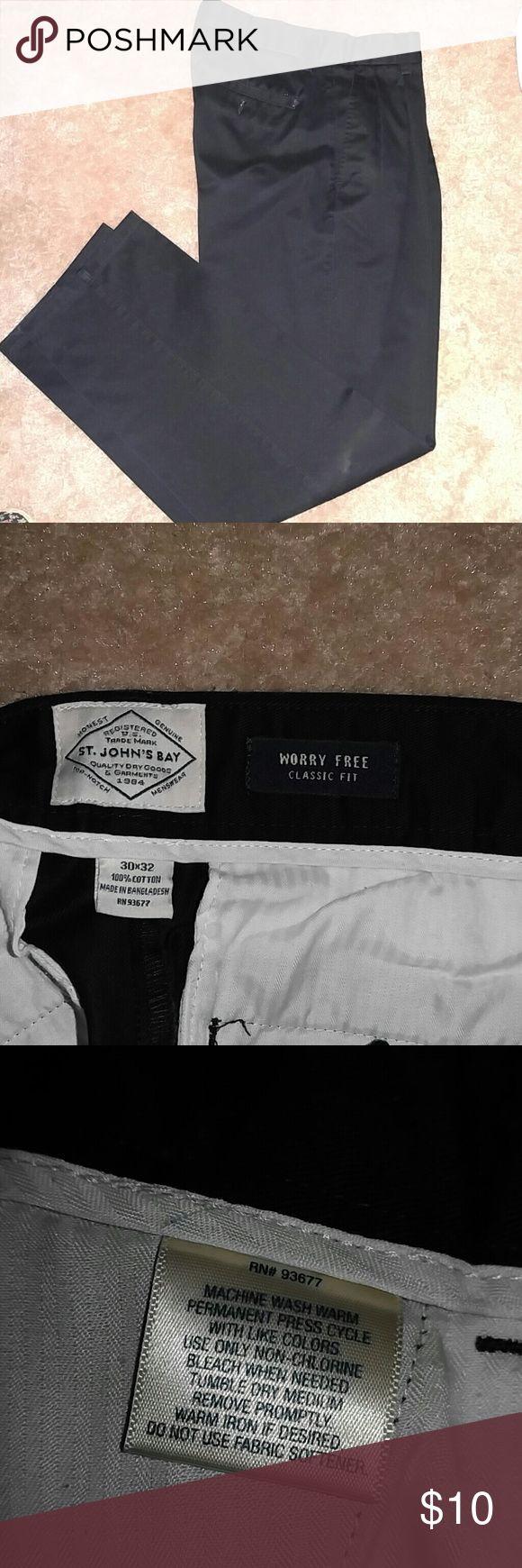 Mens slacks Size 30X32 Pants Dress