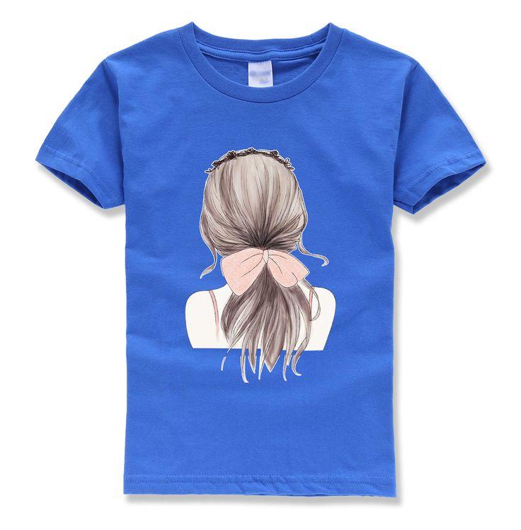 2017 summer new fashion brand clothing boy t shirts short sleeve o neck pullovers hip hop children girls homme t shirt kids mma #Affiliate