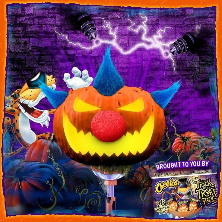 Chester's Pumpkinator Halloween fun, Halloween