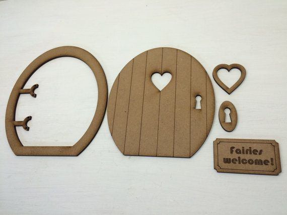 Bring a little magic into your life with our three-dimensional Round Fairy Door Craft Kit! The self-assembly kit incorporates: a round fairy door with key hole, heart-shaped peephole window with matching frame, door frame, key plate and a cute fairies welcome door mat. Please note: this design can be personalised with the addition of your own text to the welcome mat. Why not add your childs name or a short message? Contact us about this service which is available for a small additional…