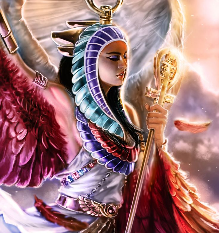 'Isis' by ~laclillac on deviantART.