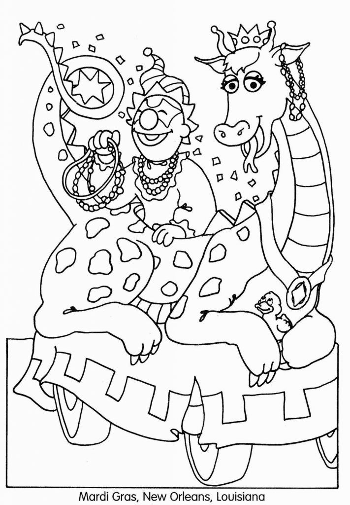 Free Printable Mardi Gras Coloring Pages For Kids Mardi Gras Mardi Gras Crafts Coloring Pages For Kids