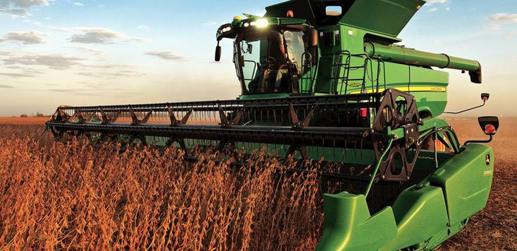 I AM a John Deere Combine!  I'm strong! I'm capable! I harvest only the best and kick out the rest!
