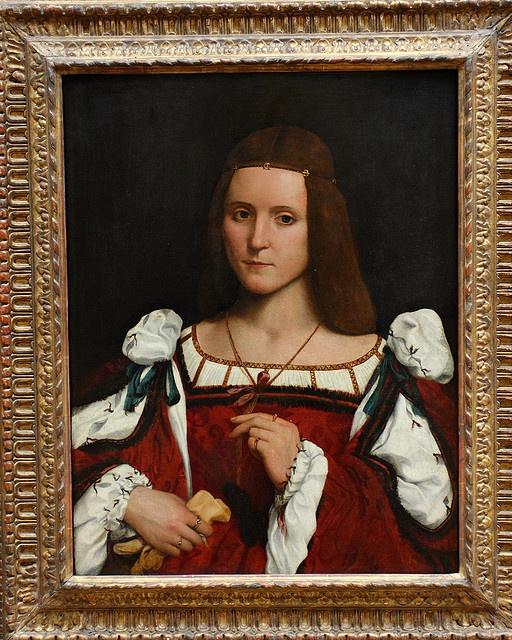 Interview With Architect Giovanni Francesco Frascino: Giovanni Francesco CAROTO, Portrait De Femme, Dit