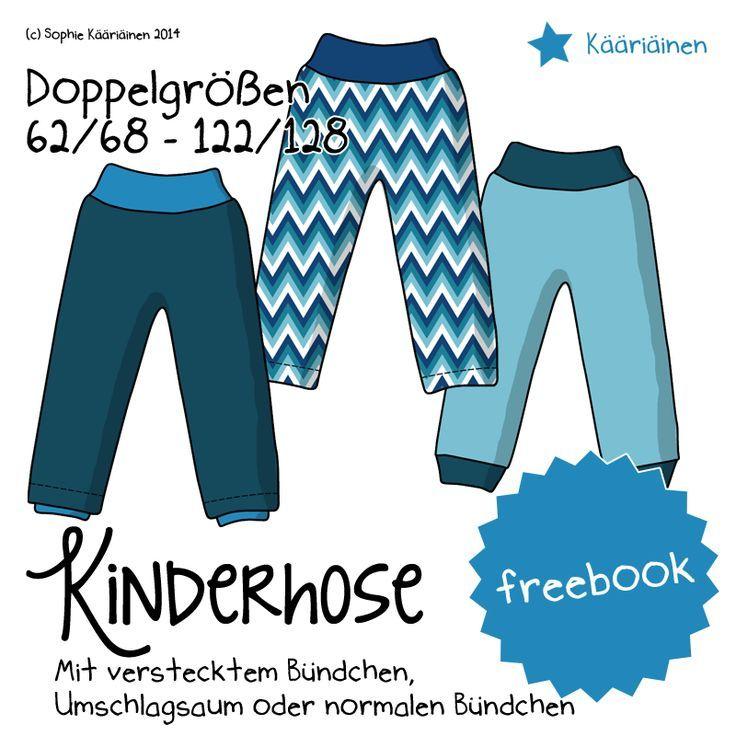 Kääriäinen: Freebook – Kinderhose – schnell und…