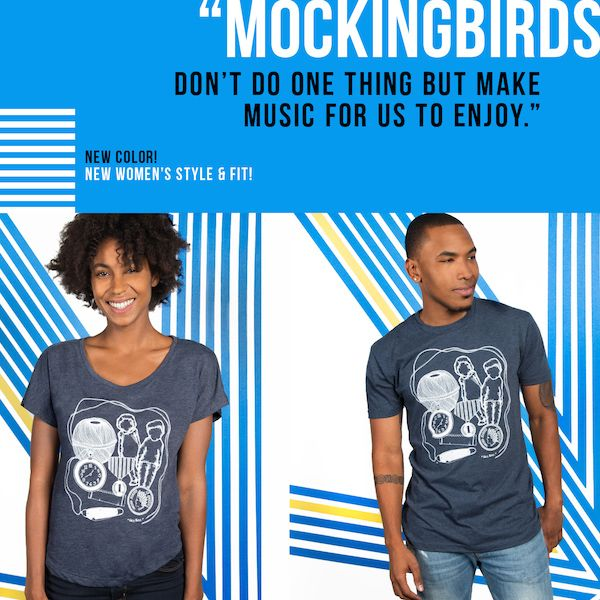 "We've got some limited edition ""To Kill A Mockingbird"" shirts in the Book Riot Store. Check 'em out!"