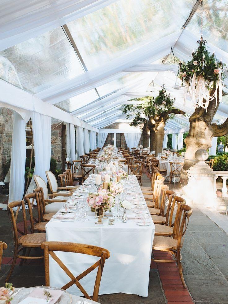 Photography: Mango Studios - mangostudios.com Venue: Graydon Hall Manor - www.graydonhall.com/ Read More on SMP: http://www.stylemepretty.com/canada-weddings/2014/12/16/lbb-planner-tented-garden-wedding-toronto/