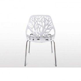 Quadre Design Krzesło inspir. Forest białe