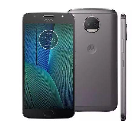 Smartphone Motorola Moto G5s Plus XT1802 Platinum 32GB, Tela 5.5'', Dual Chip, TV Digital, Android 7.1, Câmera Traseira Dupla 13MP e 3GB RAM