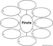 Pirate Dictionary | Write Eight Pirate-Related Words