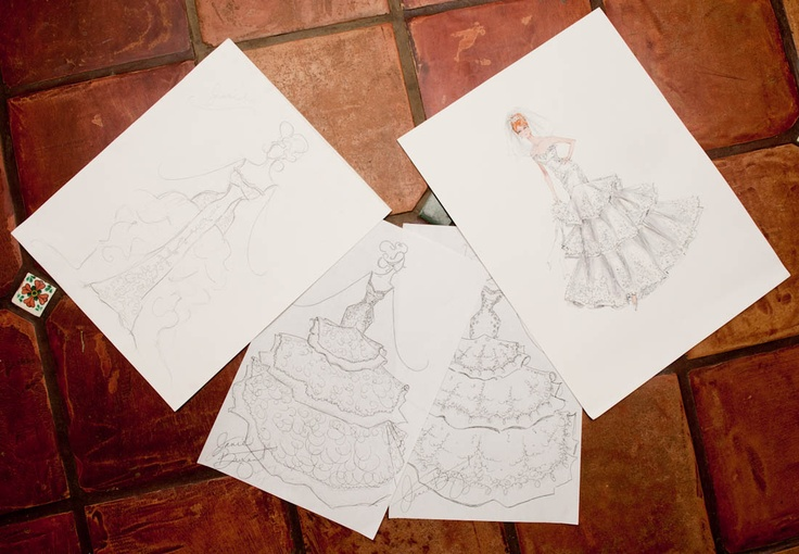Bridal.: Bryant Mad, Por Janis, Gorgeous Sketch, Fashion Design, Janie Bryant, Fashion Offices, Fashion Illustrations, Janis Bryant, Design Sketch
