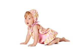 Burda patroon 9462 - Babypakje - Kinderen patronen - Patronen