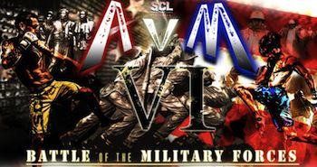 Battle of the Military Forces - Army vs. Marines - Evening Show - Presented by Sparta Combat League - Saturday via VetTix.org