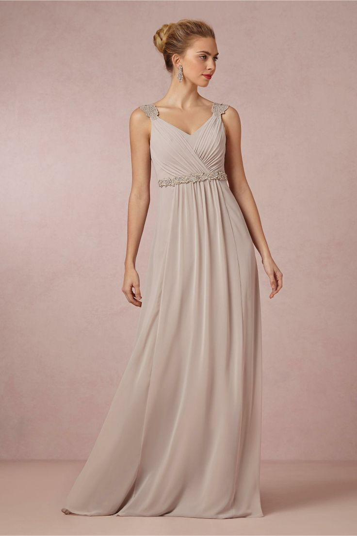 Product Freya Maxi Dress In Dove Grey From Bhldn Bridesmaids