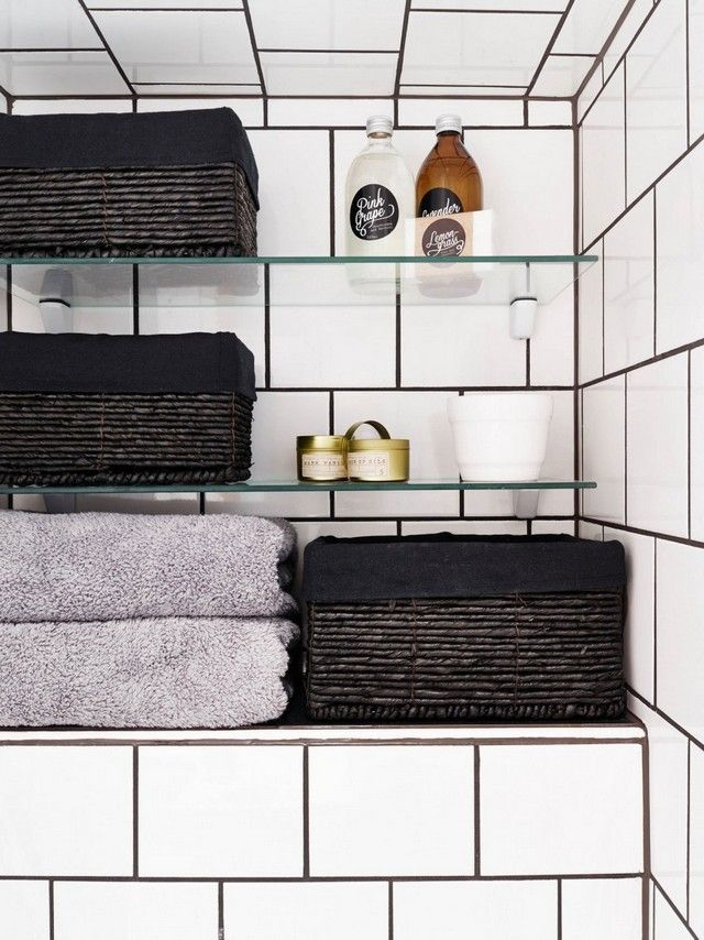 17 best ideas about badezimmer schwarz on pinterest | spüle, Hause ideen