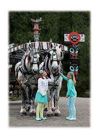 Stanley Park Horse-Drawn Tours, Vancouver, BC