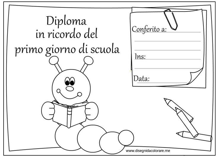 Diploma-memoria-primer día de clases-oruga