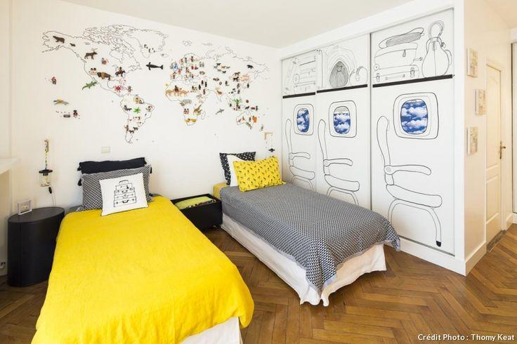 La chambre décorée de Plamobil