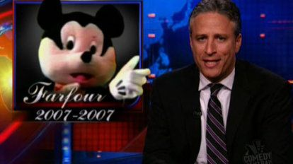 Farfour 2007-2007   You've got to hand it to Hamas - they really know how to kill a children's show's mouse.