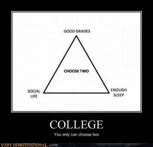 College: Colleges Life, Funny Things, Lol So True, Social Life, College Life, Truth, Grad Schools, True Stories, High Schools