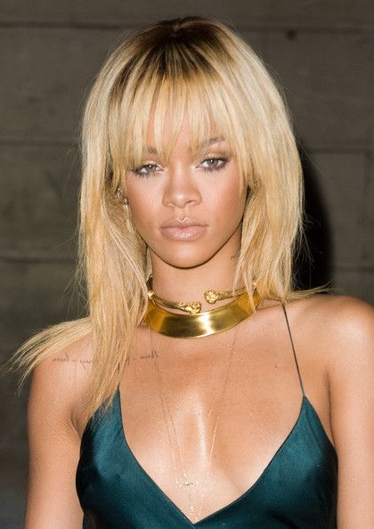 For ladies who are 'loving statement jewelry/jewellery'.  Check out Rhianna's style!  #bohemianlush