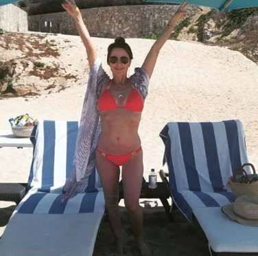 """Hola from Cabo! "" --Kyle Richards, who posted this bikini pic on Instagram in June 2016 - @kylerichards18/Instagram"