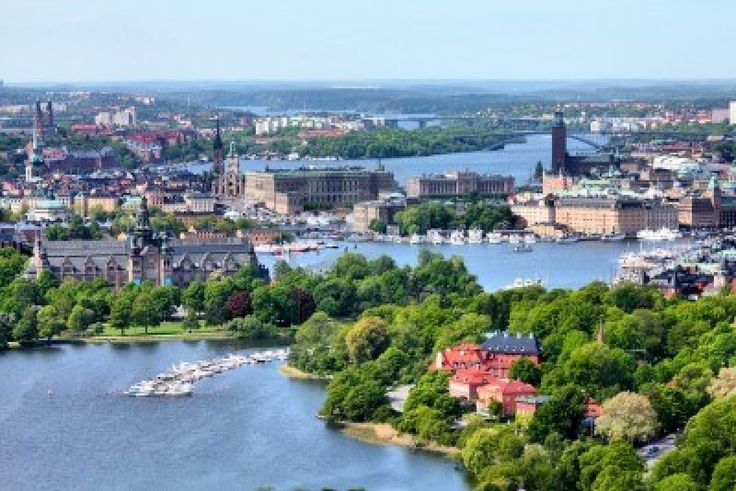 The beautiful city of Stockholm