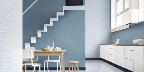Dulux Colour of the Year Denim Drift - family tonal colour palette, blue hues