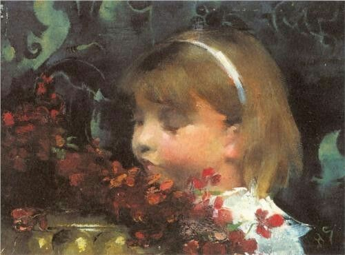Portrait of a Child - Helene Schjerfbeck
